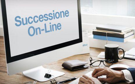 PRESENTAZIONE ON LINE DELLE DENUNCIE DI SUCCESSIONE E VOLTURE CATASTALI