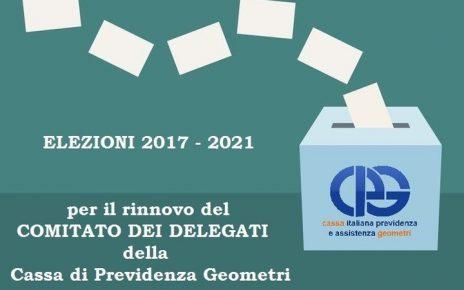 ELEZIONI DELEGATI CIPAG 2017-2021