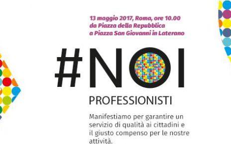 # NOI PROFESSIONISTI – ROMA 13 Maggio 2017